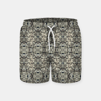 Thumbnail image of Steampunk Camouflage Print Pattern Swim Shorts, Live Heroes