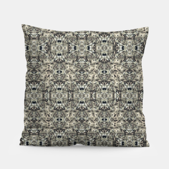 Thumbnail image of Steampunk Camouflage Print Pattern Pillow, Live Heroes