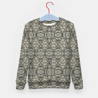 Thumbnail image of Steampunk Camouflage Print Pattern Kid's sweater, Live Heroes