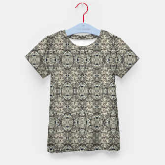 Thumbnail image of Steampunk Camouflage Print Pattern Kid's t-shirt, Live Heroes
