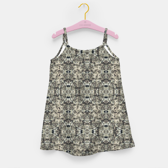 Thumbnail image of Steampunk Camouflage Print Pattern Girl's dress, Live Heroes