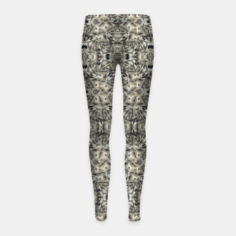 Thumbnail image of Steampunk Camouflage Print Pattern Girl's leggings, Live Heroes