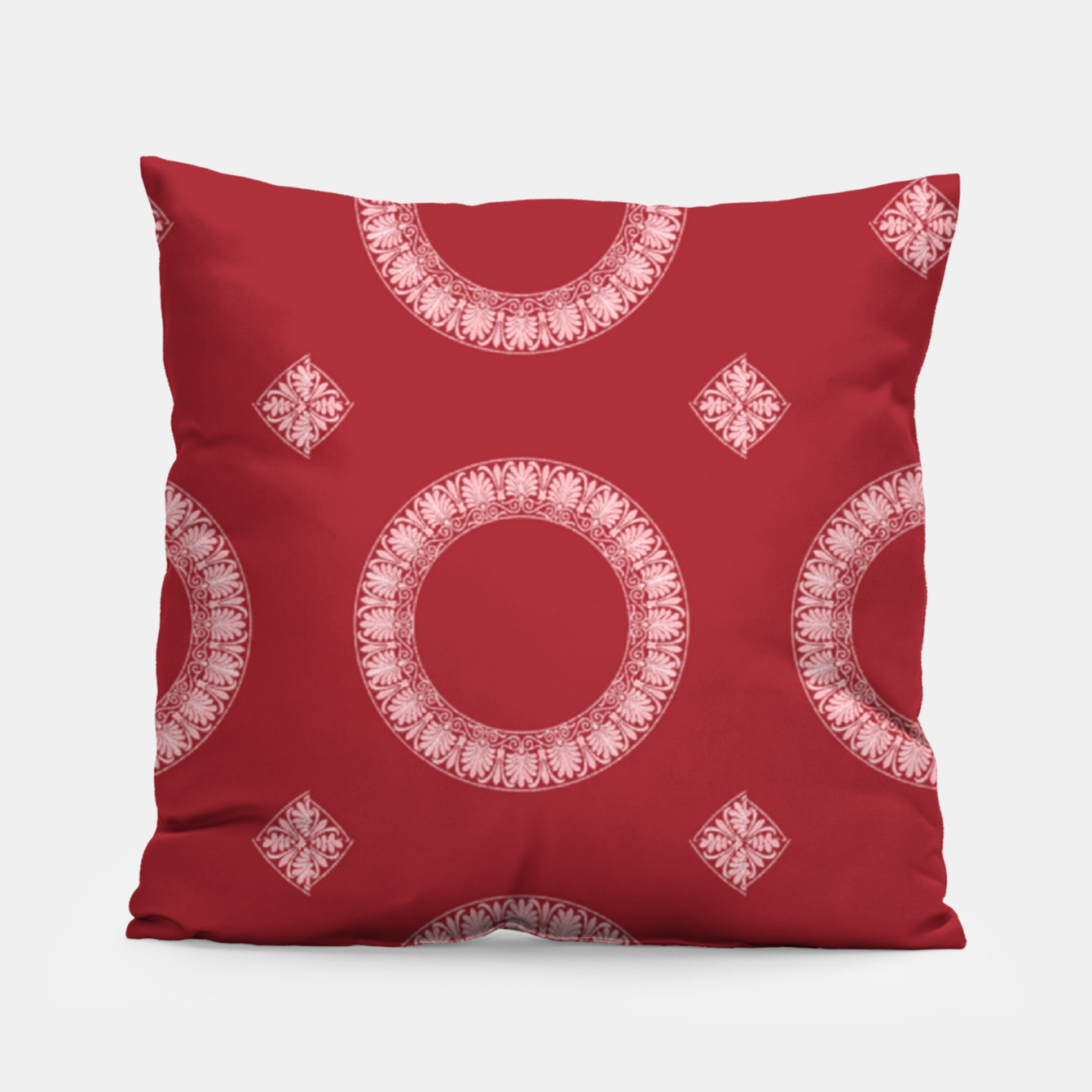 Image of Decorative circle prints Pillow - Live Heroes