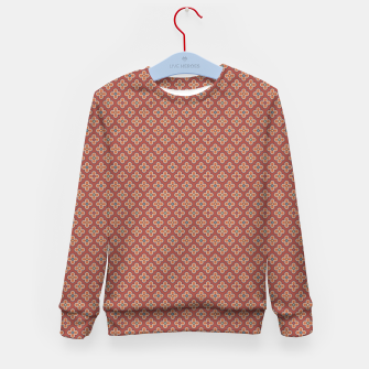Thumbnail image of Gothic terracotta quatrefoil ornament  Kid's sweater, Live Heroes