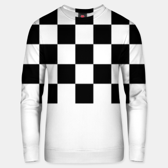 Thumbnail image of Checkered pattern Unisex sweater, Live Heroes