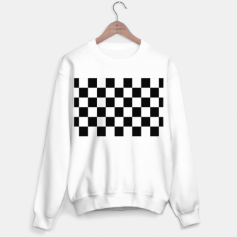 Thumbnail image of Checkered pattern Sweater regular, Live Heroes