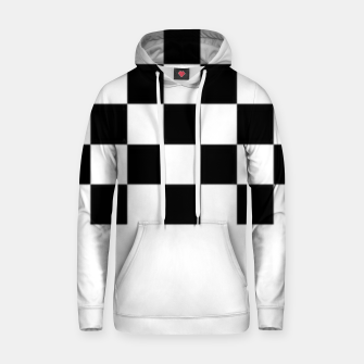 Thumbnail image of Checkered pattern Hoodie, Live Heroes