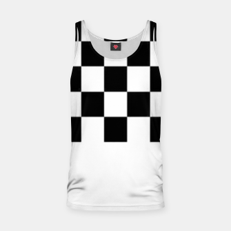 Thumbnail image of Checkered pattern Tank Top, Live Heroes
