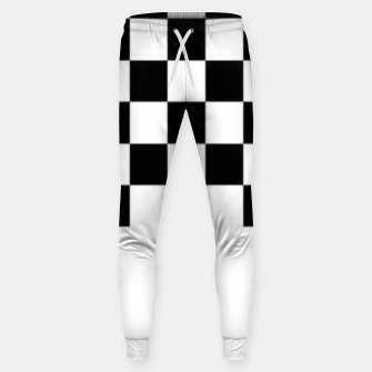 Thumbnail image of Checkered pattern Sweatpants, Live Heroes