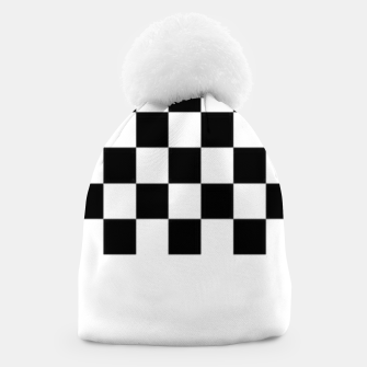 Thumbnail image of Checkered pattern Beanie, Live Heroes