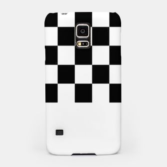 Thumbnail image of Checkered pattern Samsung Case, Live Heroes