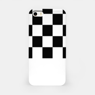 Thumbnail image of Checkered pattern iPhone Case, Live Heroes