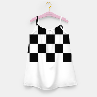 Thumbnail image of Checkered pattern Girl's dress, Live Heroes