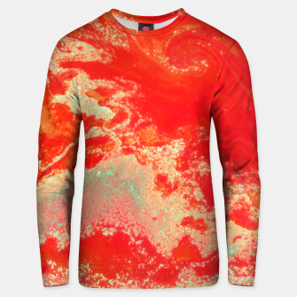 Thumbnail image of Sea Green and Coral Unisex sweater, Live Heroes