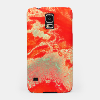 Thumbnail image of Sea Green and Coral Samsung Case, Live Heroes