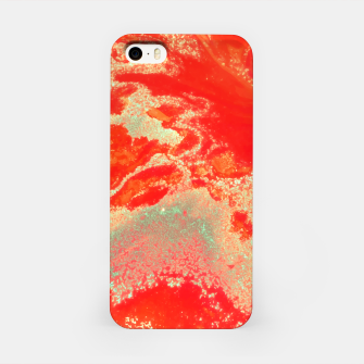 Thumbnail image of Sea Green and Coral iPhone Case, Live Heroes