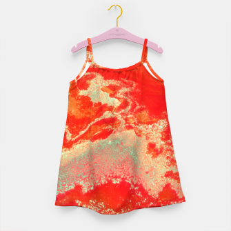 Thumbnail image of Sea Green and Coral Girl's dress, Live Heroes