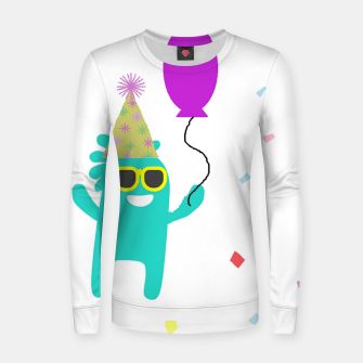 Monster party Women sweater thumbnail image