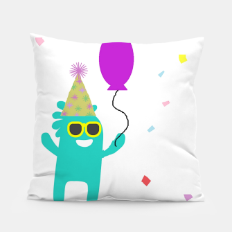 Monster party Pillow thumbnail image