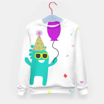 Monster party Kid's sweater thumbnail image