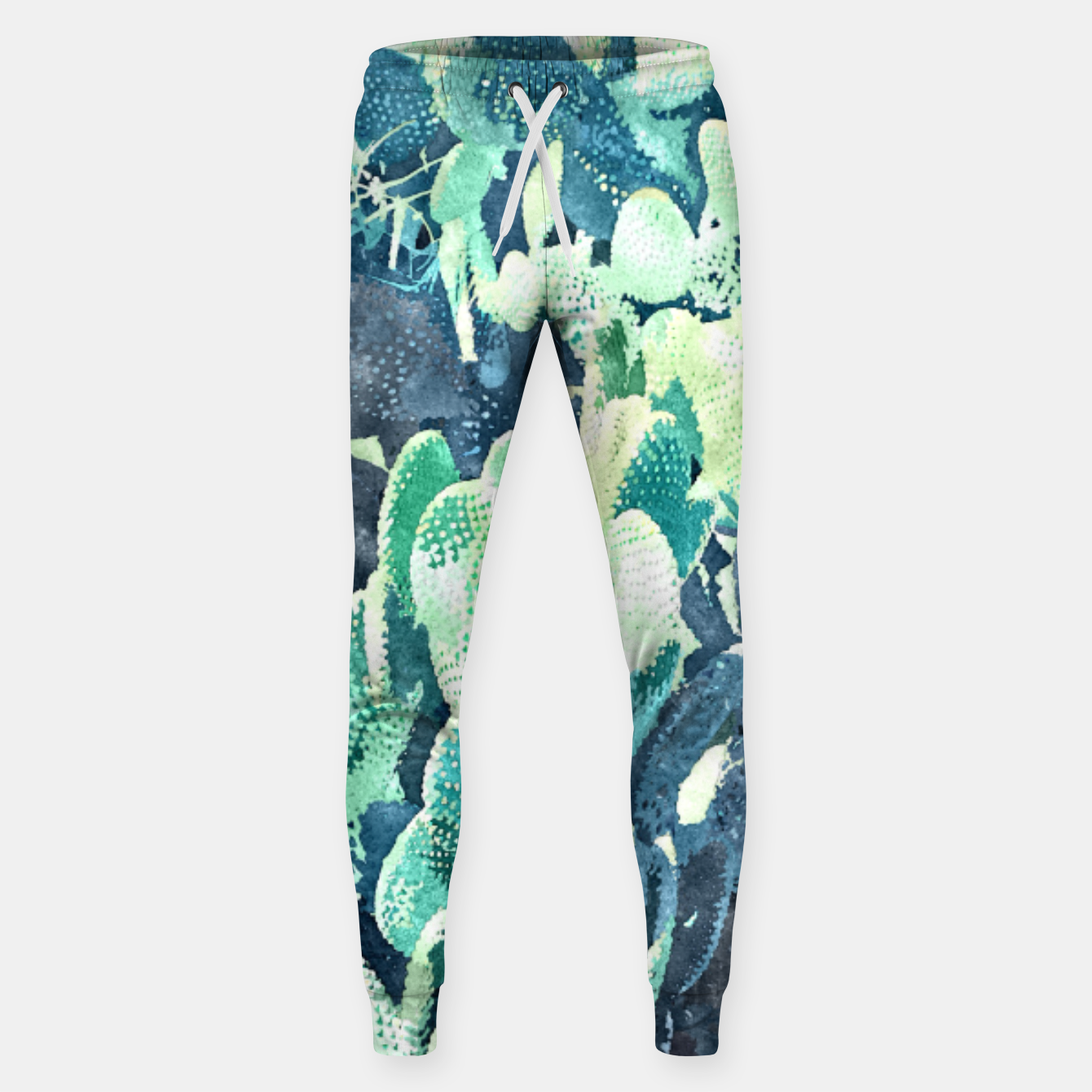 Image of Watercolor Cactus V3 Sweatpants - Live Heroes