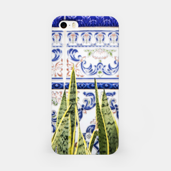 Miniatur Moroccan Botany iPhone Case, Live Heroes