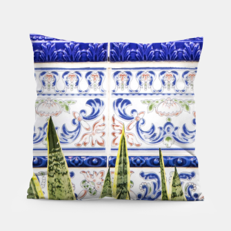 Miniatur Moroccan Botany Pillow, Live Heroes