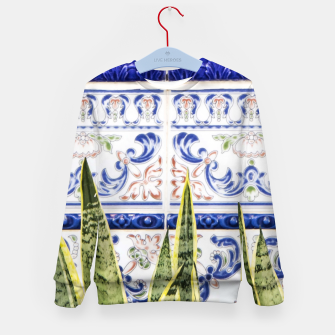 Miniatur Moroccan Botany Kid's sweater, Live Heroes