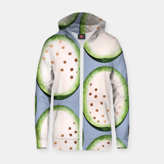 Thumbnail image of Rose Gold Melon Seeds Zip up hoodie, Live Heroes