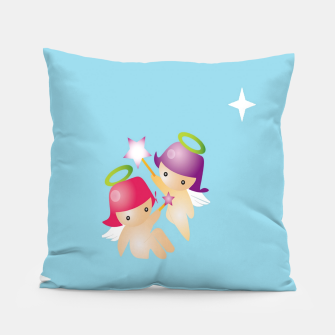 Thumbnail image of Cute angels Pillow, Live Heroes