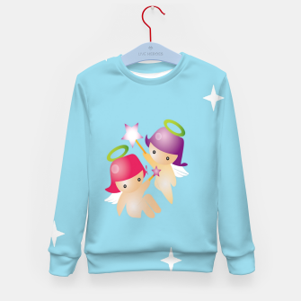 Thumbnail image of Cute angels Kid's sweater, Live Heroes