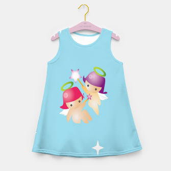 Thumbnail image of Cute angels Girl's summer dress, Live Heroes