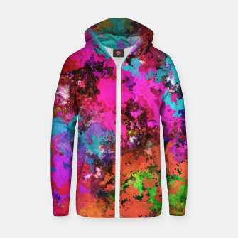 Thumbnail image of The balance Zip up hoodie, Live Heroes