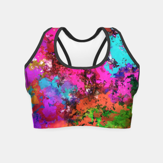 Thumbnail image of The balance Crop Top, Live Heroes