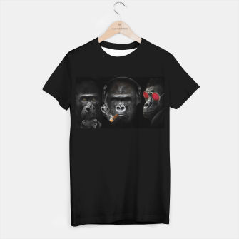 Thumbnail image of The three wise monkeys art, Live Heroes
