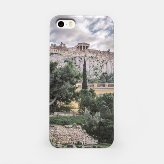 Thumbnail image of Acropolis and Roman Agora, Athens, Greece iPhone Case, Live Heroes