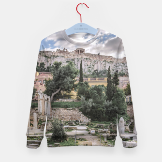 Thumbnail image of Acropolis and Roman Agora, Athens, Greece Kid's sweater, Live Heroes