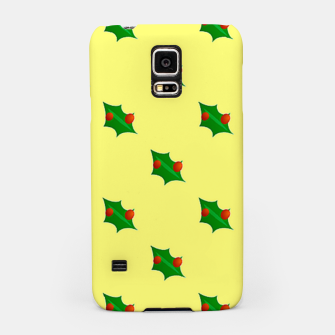 Thumbnail image of Christmas holly Samsung Case, Live Heroes