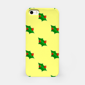 Thumbnail image of Christmas holly iPhone Case, Live Heroes