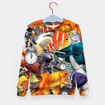 ADVENTURES THROUGH TIME STOP THE CLOCK Kid's sweater thumbnail image