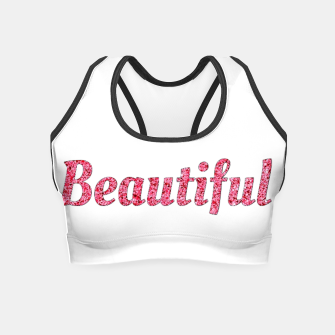 Thumbnail image of Be beautiful Crop Top, Live Heroes