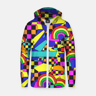 Thumbnail image of authomatic blue hoodie, Live Heroes