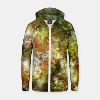 Blossom and decay Zip up hoodie thumbnail image