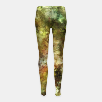 Blossom and decay Girl's leggings thumbnail image