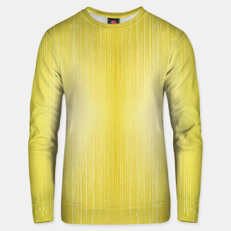 Thumbnail image of Gold paint drip Unisex sweater, Live Heroes