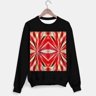 Thumbnail image of Red gradient shiny abstract Sweater regular, Live Heroes