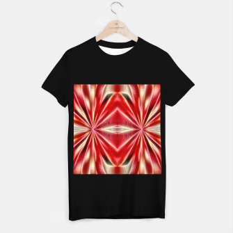 Thumbnail image of Red gradient shiny abstract T-shirt regular, Live Heroes