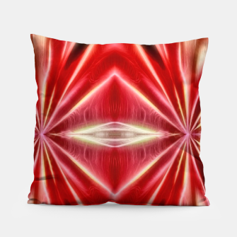 Thumbnail image of Red gradient shiny abstract Pillow, Live Heroes