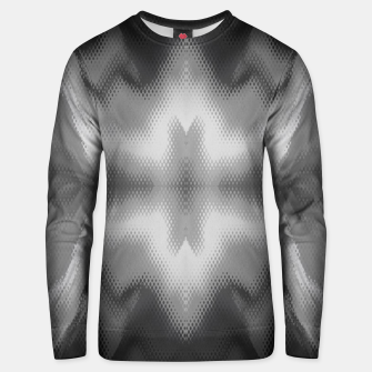 Thumbnail image of Abstract spark gray Unisex sweater, Live Heroes