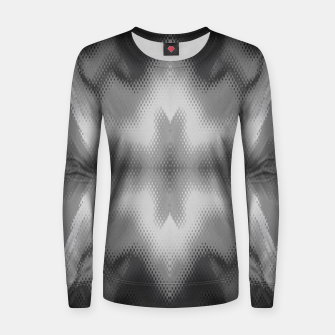 Thumbnail image of Abstract spark gray Women sweater, Live Heroes